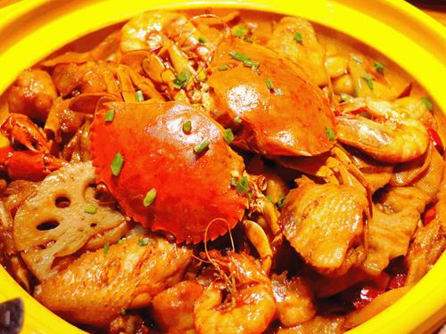 肉蟹煲培训